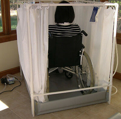Portable Shower | Wheelchair-accessible Showers | LiteShower Standard Model
