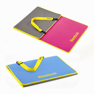 Reebok Tri-Fold 6mm Fitness Mat Yoga Exercise Gym Workout