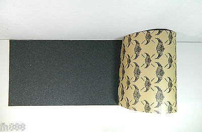 5 Sheets Brand New Jessup Black Skateboard Grip Tape 9'' x 33''
