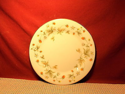 Royal Doulton China Strawberry Cream TC1118 Pattern Dinner Plate