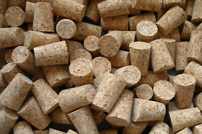 5 x Tapered Cork Bung Stopper Bottle size 0