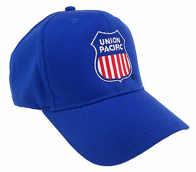Union Pacific Railroad Royal Blue Embroidered Cap Hat #40-0047B