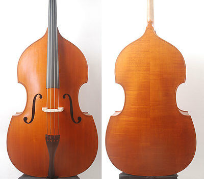 Special Offer!  3/4 Size Solidwood Double Bass Gamba Shape