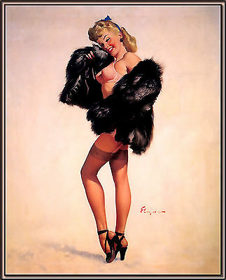 Vintage Pin Up Girls Retro Burlesque Erotic Prints & Posters A2,A3,A4 Sizes
