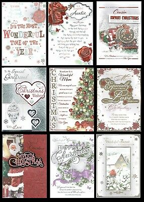 LARGE  ~ QUALITY ~ CHRISTMAS CARD ~SOMETHING FOR EVERYONE Great Designs L@@K