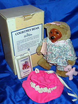 ROBERT RAIKES 1990 LE The Good Company COURTNEY BEAR W/ COA New In Box