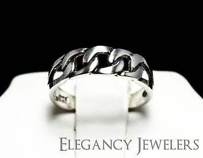 Adjustable .925 Sterling Silver Three Links Chain Summer Cute Beach Toe Ring
