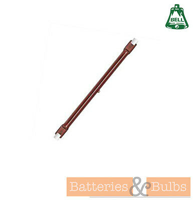 1300w 254mm Infra Red RX7 Ruby Red Heat Lamp For Patio Garden Heater