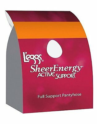 L'eggs Active Support Regular, Reinforced Toe Pantyhose 4-Pack - style 67508