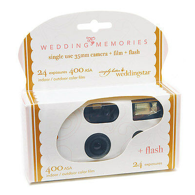 12 Heart Scroll Theme Single Use Wedding Memories Supply Party Disposable Camera