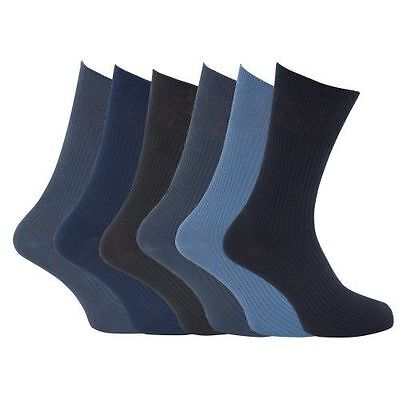 mens black socks size 11 12 13 14  100%  cotton big foot XL feet  blue grey