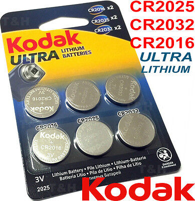 6 x 2025 CR2025 3v LITHIUM Coin Cell Batteries For 3D Glasses Car Key Scales etc