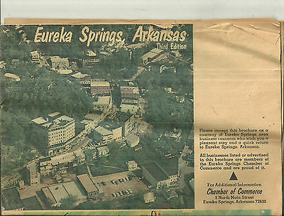 Vintage Eureka Springs Arkansas Travel Guide