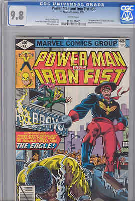 Power Man and Iron Fist #58  CGC 9.8 : 1979 Marvel Comic: 1st app of the Eagle