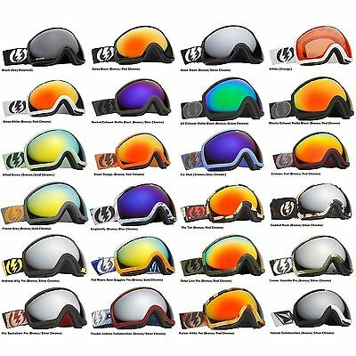 NEW Electric EG2 mirrored wide angle mens ski snowboard goggles 2013 Msrp$160