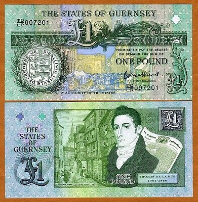 Guernsey, 1 pound, ND (2013), P-New, UNC > limited Issue commemorative