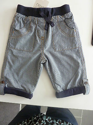 NEXT Gorgeous Little Boys Navy Striped Trousers Up to 3 Months NWT