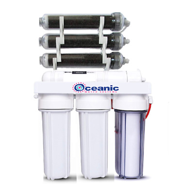 Aquarium Reef Reverse Osmosis DI/RO water Filter System 7 Stage 0ppm Ultra pure