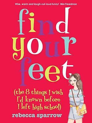Find Your Feet by Rebecca Sparrow Paperback Book (English)