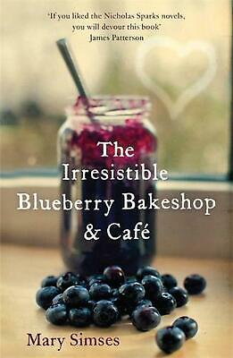 Irresistible Blueberry Bakeshop and Cafe by Mary Simses Paperback Book Free Ship