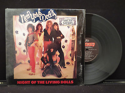 New York Dolls - Night Of The Living Dolls on Mercury Records IN SHRINK WRAP