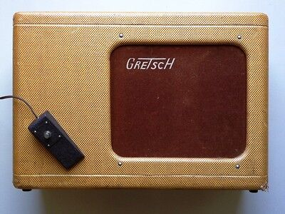 1958 Gretsch 6161 Twin Tweed Electromatic Amplifier