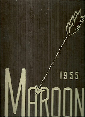 1955 Elgin High School Yearbook Elgin Illinois
