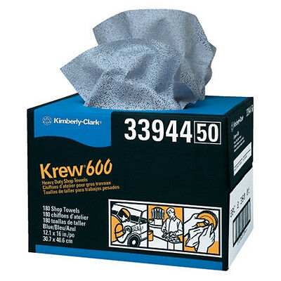 KREW 600 Shop Towels Twin Pop-Up Box - 33944