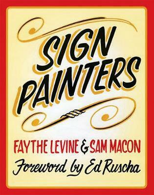 Sign Painters by Faythe Levine (English) Paperback Book Free Shipping!