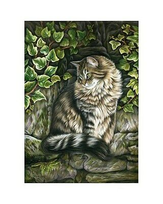 Tabby ACEO Observation Point from orig. By I Garmashova