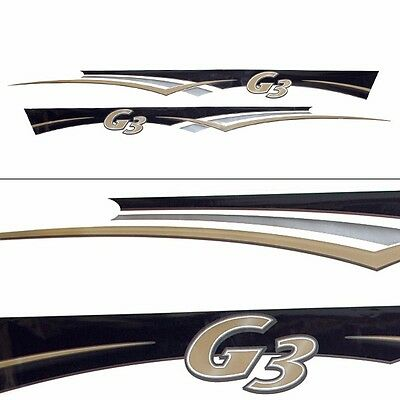 G3 Boat Decal 73404726 / 73404722 | 105 x 8 Inch  (Set of 2)