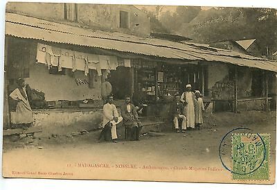 Colonies Francaises Madagascar Nossi-Be Ambanourou Grand Magasin Indien
