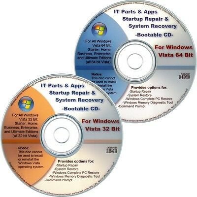 free download windows vista 32 bit x86 recovery disc