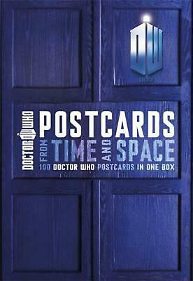Doctor Who Postcards from Time and Space by None Paperback Book (English)