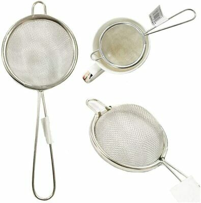 Tea Strainer Wire Mesh Kitchen Traditional Loose Infuser Vintage Stainless Steel