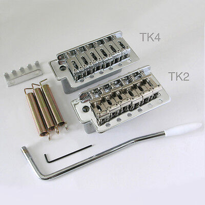 S-Style Tremolo Chrome guitar kit TK2 or TK4