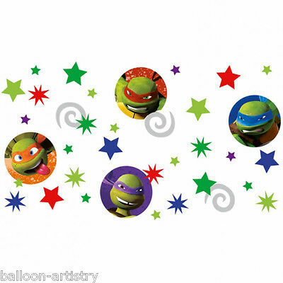 3 Bags Teenage Mutant Ninja Turtles TMNT Party Confetti Sprinkles