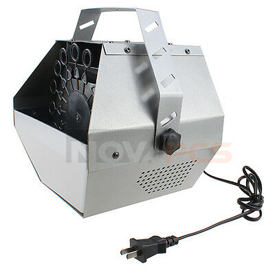 Deluxe 16 Wand Bubble Machine Auto Blower Maker for DJ Wedding Party Kids Stage