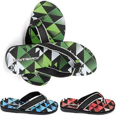 NEW MENS GENTS KAPPA BEACH HOLIDAY GYM SHOWER FLIP FLOPS MULES SANDALS SIZE 6-12