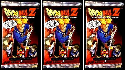 Dragonball Z Androids Saga Unlimited Score CCG 3 Booster Lot 2001 Sealed