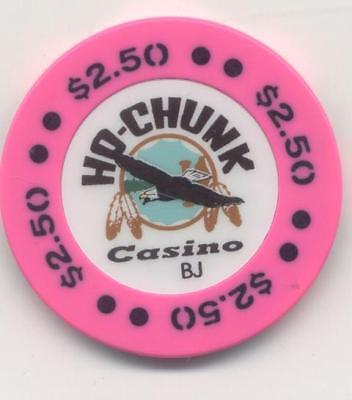 HO-CHUNK  $2.50  obs. WI. CASINO CHIP  WISCONSIN DELLS