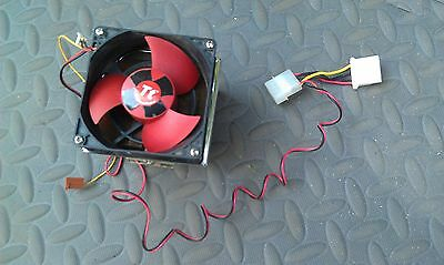 8E63 Thermaltake Copper Heat Sink & Fan: 90X80X50Mm +/- Heat Sink, 1#6 Of Copper