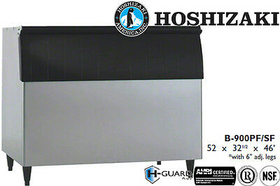 "Hoshizaki Ice Storage Bin 900 Lbs. Capacity 52"" Wide Stainless Steel"