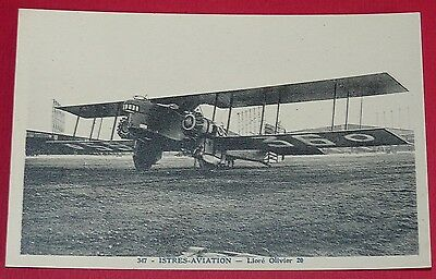 Rare Cpa 1928 Aviation Base Aerienne 125 Istres Liore-Olivier 20