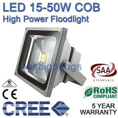 CREE 15W-150W Cool Warm White Floodlight Outdoor Lamp LED Flood Wash Light IP65