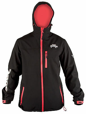 Fox /rage hooded black soft shell jacket