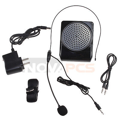 Mini 8 Voice Amplifier Microphone 3 in 1 Megaphone Loudspeaker for MP3 MP4