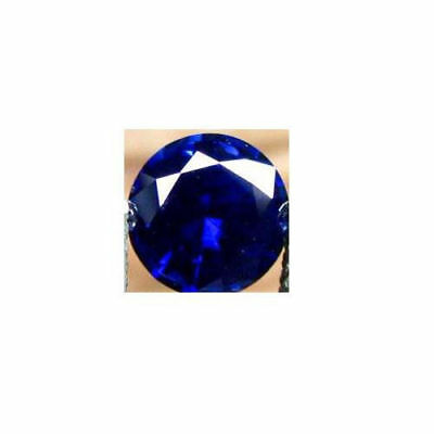 Natural Deep Blue Sapphire - Round Diamond Cut - Sri Lanka - Top Grade