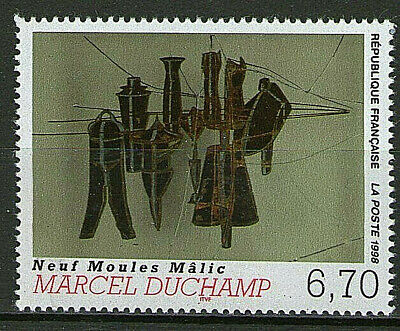 Timbre 3197 Neuf Xx Luxe - Marcel Duchamp Les Neufs Moules Malic
