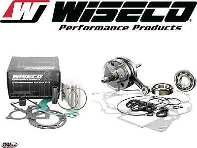Wiseco Top & Bottom End Yamaha 2002-2015 YZ 85 Engine Rebuild Kit Crank/Piston